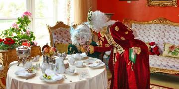 Чаепитие в усадьбе «Марьино»